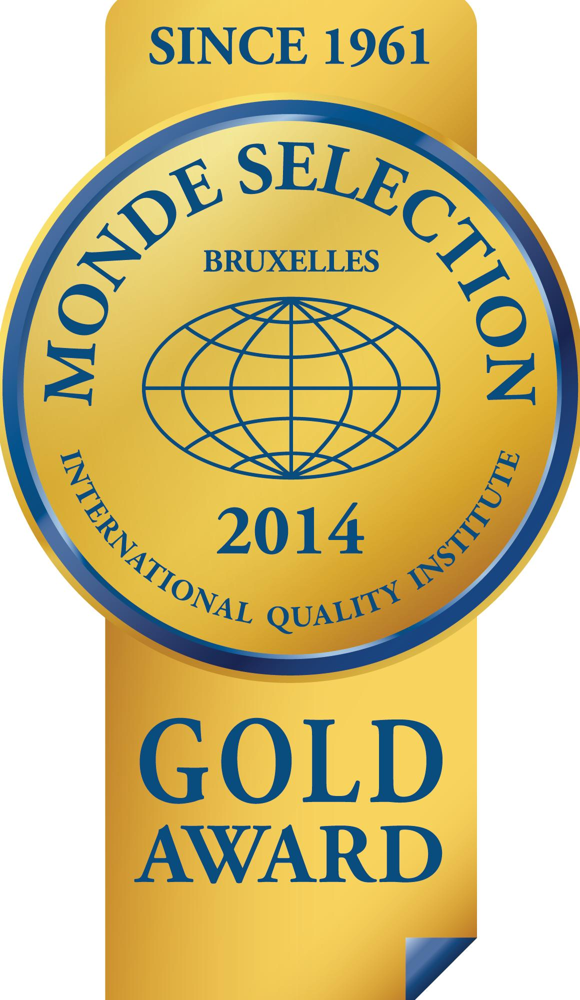 Monde Selection Gold Award 2014