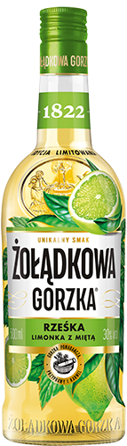 Żołądkowa Gorzka Fresh - Lime with Mint