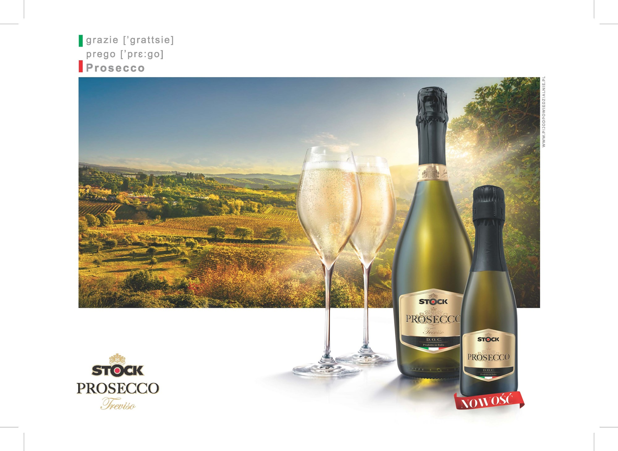 Stock Prosecco in a new 200ml format